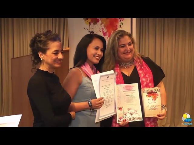 Cerimônia de Lançamento da Coletânea A Arte de Ser Mulher Vol. 2 – Prosa Feminina.
