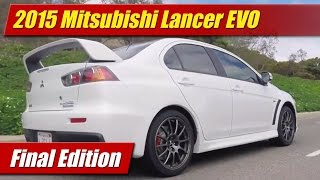 Mitsubishi Lancer Evolution Final Edition 2015 Videos