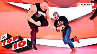 Top 10 Mejores Momentos de Raw En Español: WWE Top 10, Nov. 4, 2019