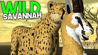 "Wild Savannah-High speed attack, EPIC hunt! ""Cheetah"" 
