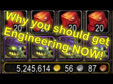 WoW Legion Engineering Profession - Why you should get it (Engineering Guide)[Wow Legion Gold Guide]