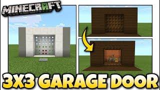 How To Make A Garage Door In Minecraft Works On Every Platform