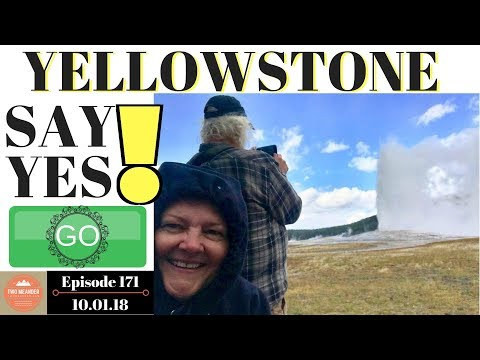 Visiting Yellowstone National Park in Fall 2018 - S1.E171