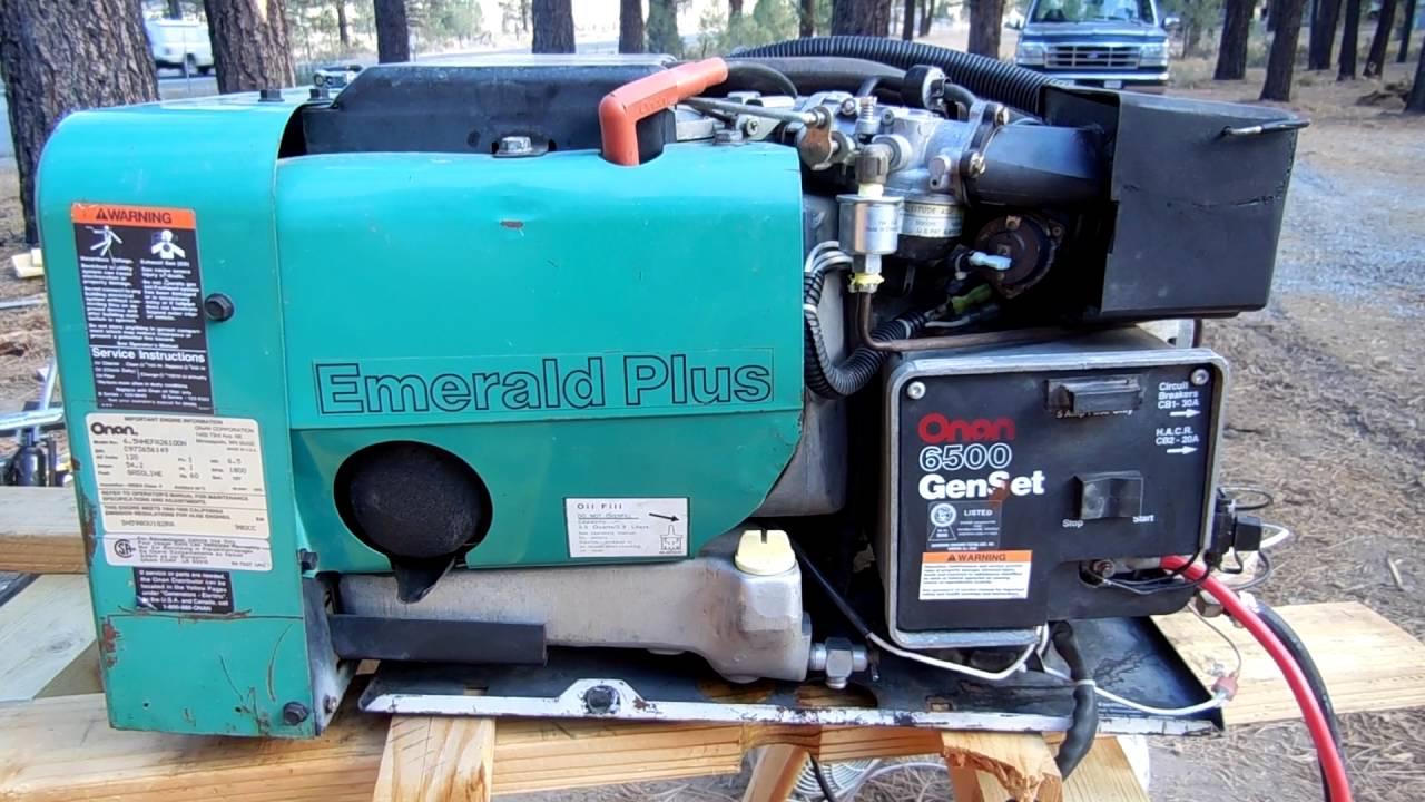 Onan 6 5 Nhe Generator
