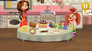 БАРБОСКИНЫ Лиза Барбоскина готовит торт и мороженое Детская кулинарна школа