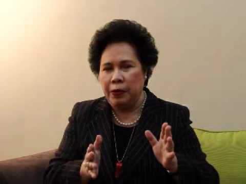Brendarna Interviews Senator Miriam Defensor Santiago