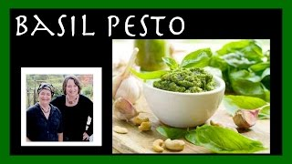 Basil Pesto: Capture The Brightness Of Basil In This Pesto & Even Store It For The Winter...