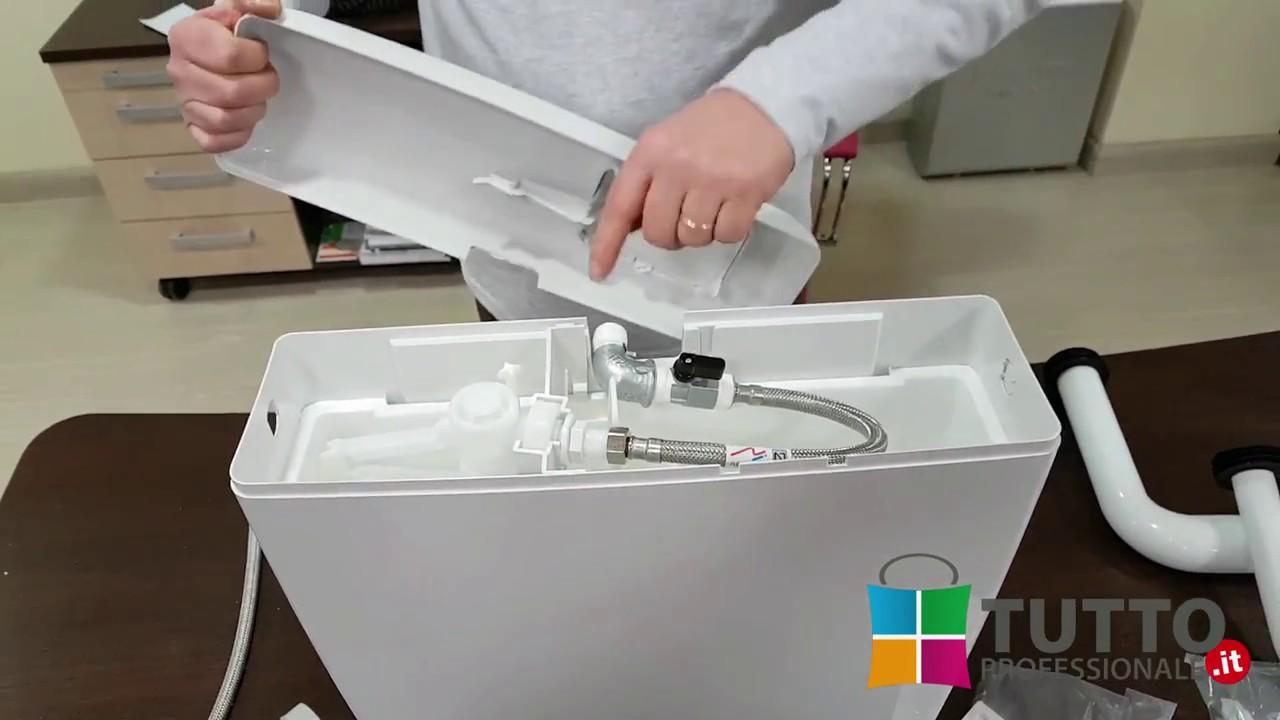 istruzioni montaggio kit attacco centrale per cassetta wc