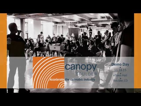 CanopyBoulder Fall 2015 Demo Day