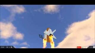 ROBLOX Space Shuttle Discovery Launch