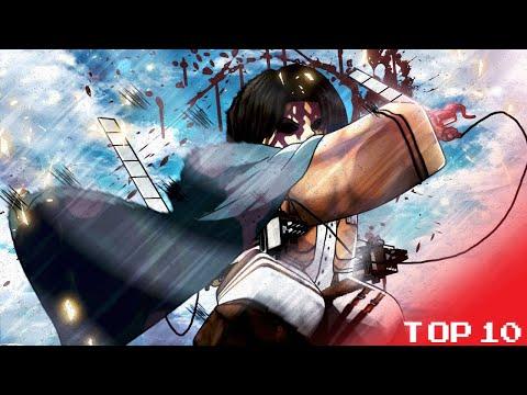 Top 10 Roblox Attack On Titan Games !!!!