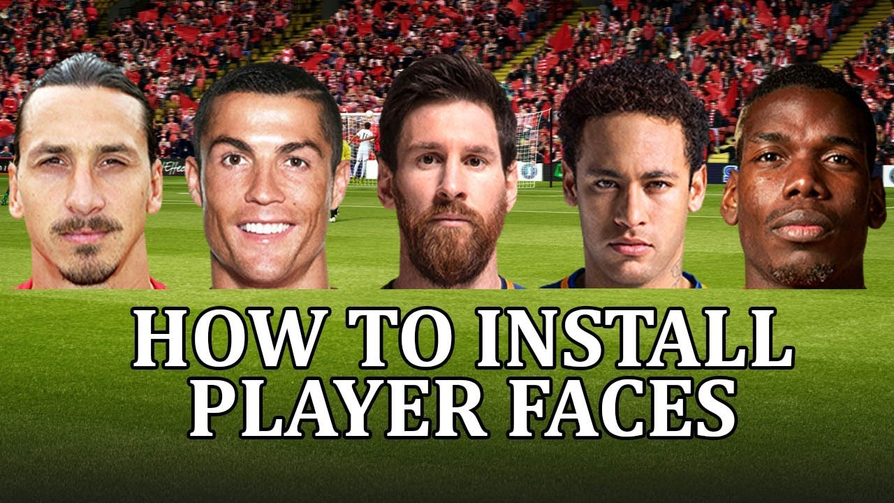 Football Manager 2018 - How to install a face pack and get real player  faces  FM18 face pack