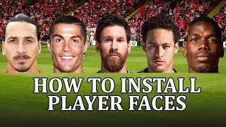 Football Manager 2018 - How to install a face pack and get real player faces. FM18 face pack.