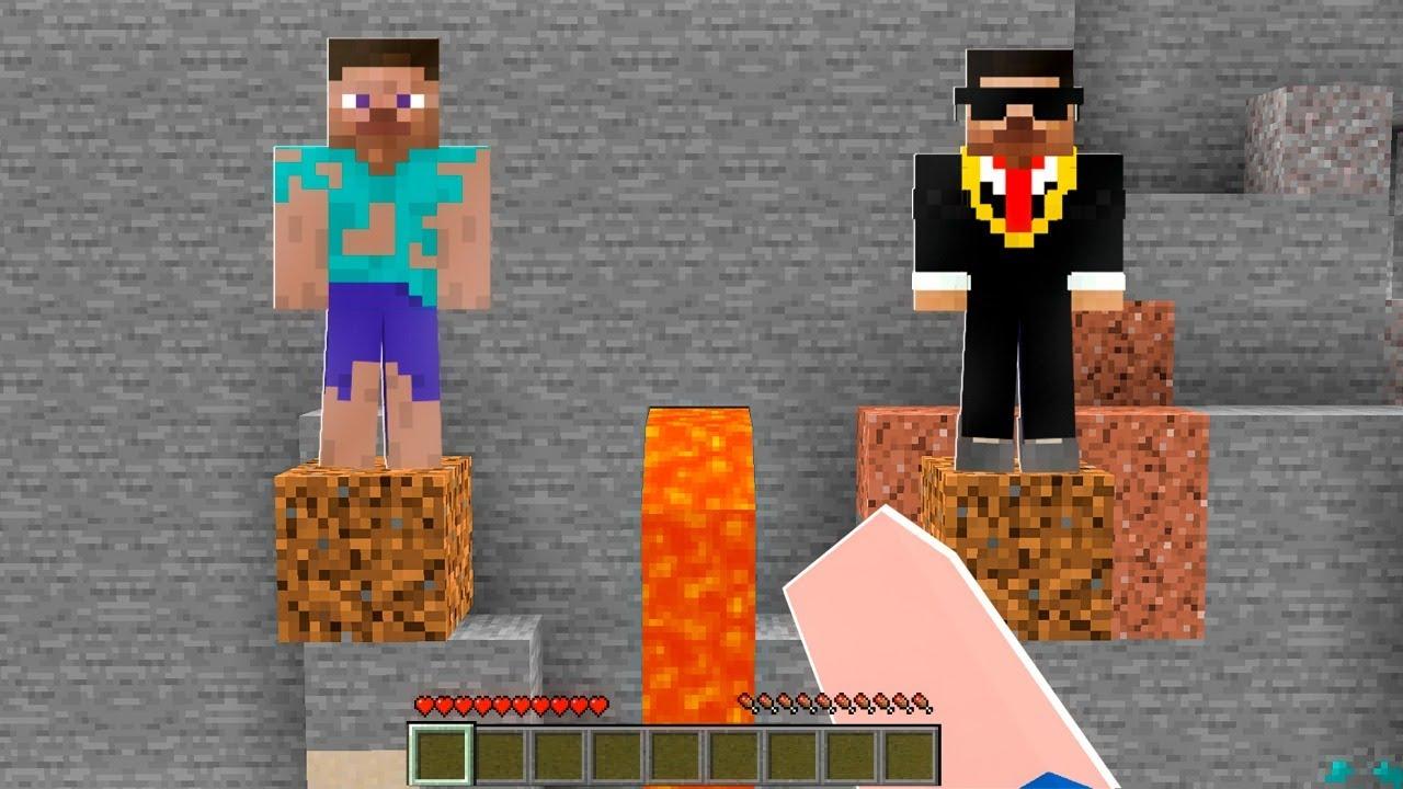 Quem VOCÊ Salvaria no Minecraft? Rico ou Pobre?