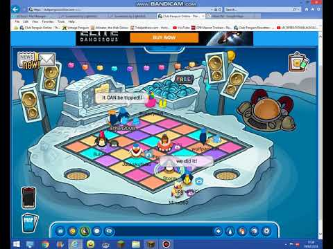 Tipping the iceberg on CPO!! (Club Penguin Online)