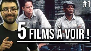 5 FILMS À VOIR DANS SA VIE !