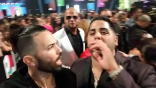 Dj Luian y MamboKingz desde la alfombra Roja en Premios Juventud thumbnail