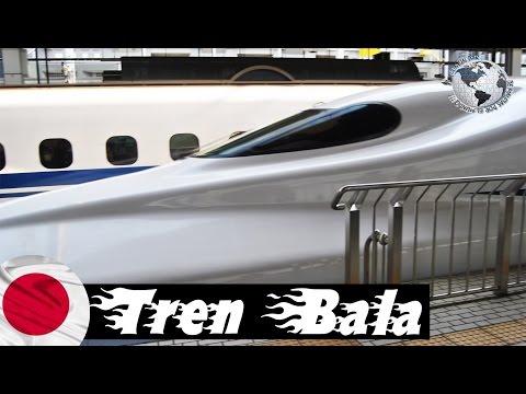 Tren Bala Shinkansen Speed Rail, Osaka, Japan. Japón 2014