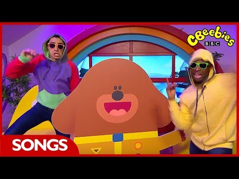 CBeebies House | Hey Duggee Stick Song Dance