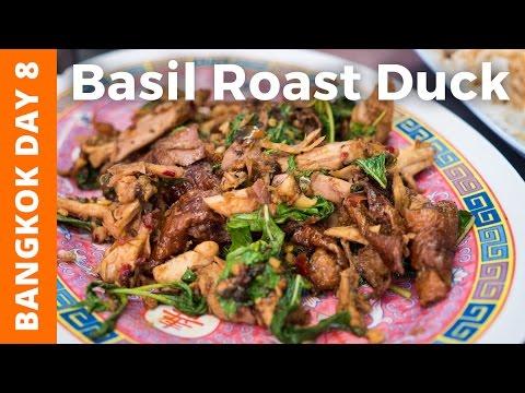 Incredible Holy Basil Roast Duck & MBK Shopping Mall - Bangkok Day 8