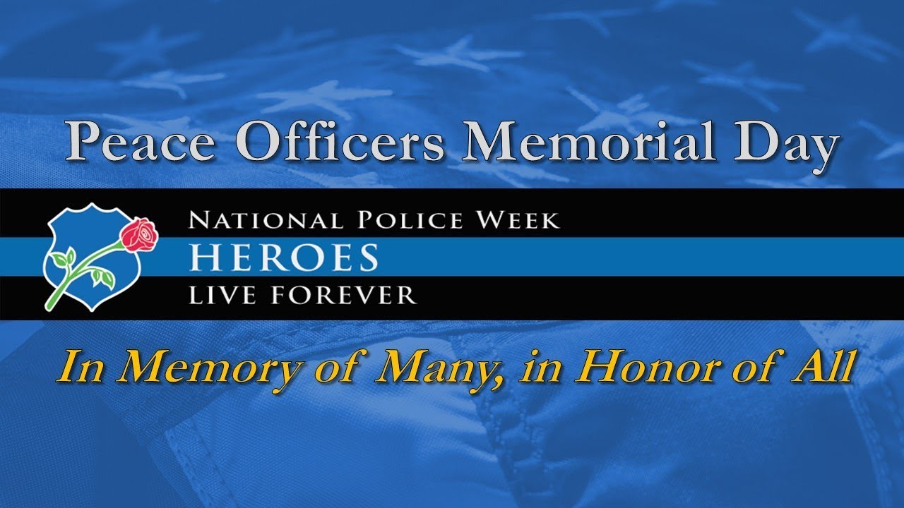 2019 Fletc Peace Officers Memorial Day Ceremony Youtube