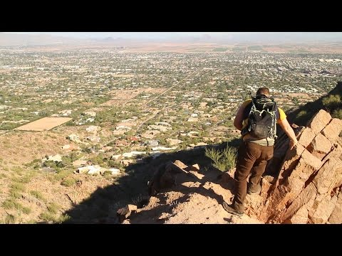 Camelback Mountain, Cholla Trail - Arizona Hiking