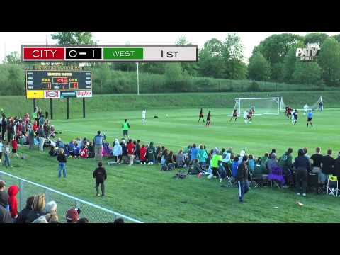 PATV SPORTS: City High v. West High Boy's Soccer 5/18/15