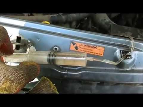 Прокачка сцепления шприцом в одиночку LDV Maxus Максус HD