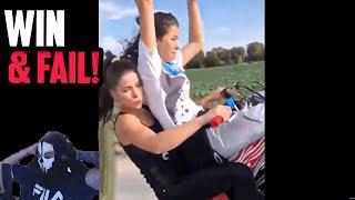MOTORRAD WIN & FAIL COMPILATION | Moji reagiert