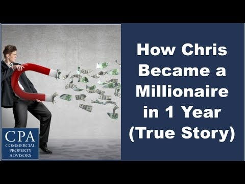 How Chris Became a Millionaire in 1 Year (True Story)