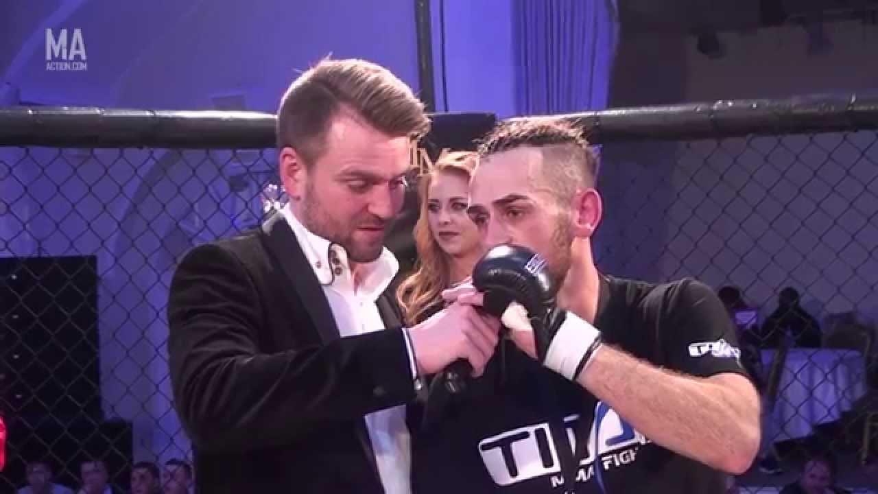 UFW 8 - Robert Harris vs Luke Squires
