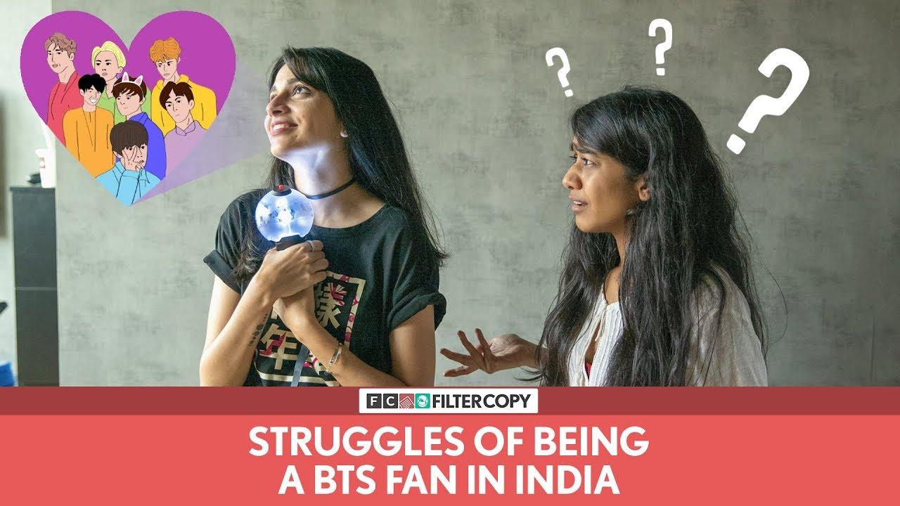 FilterCopy | Struggles Of Being A BTS Fan In India | Ft  Madhu Gudi