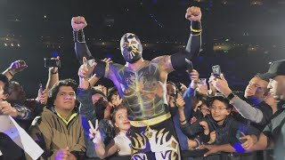 Sin Cara returns home to Mexico City