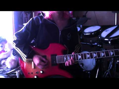 X JAPAN-the last song-guitar cover by Shun
