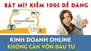 Kiếm tiền với tiếp thị liên kết | Kiếm tiền với accesstrade tạo thu nhập hàng ngày #1