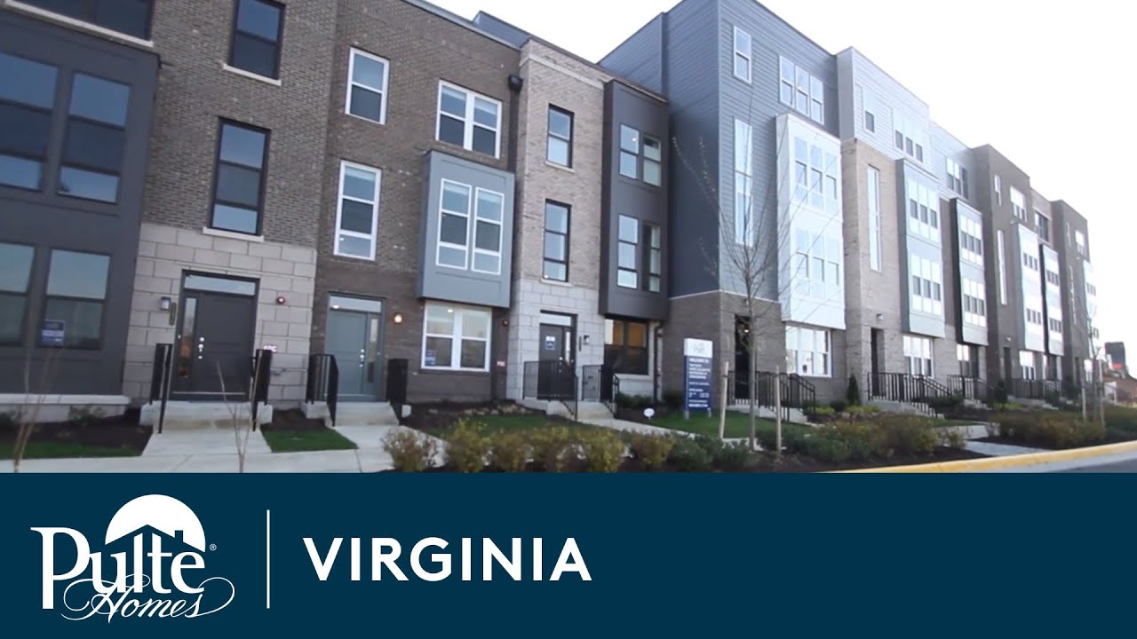 New homes in northern virginia metropark at arrowbrook for Modern homes northern virginia