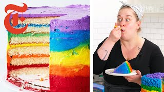 Ombré Rainbow Cake | NYT Cooking