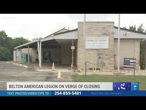 Belton American Legion Post On Verge Of Closing Due To Pandemic