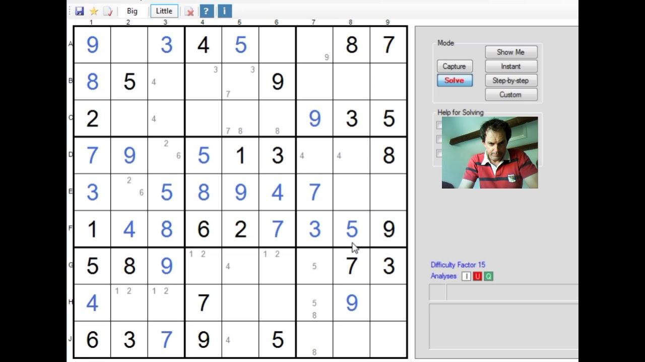 Step by Step through a Diabolical Sudoku