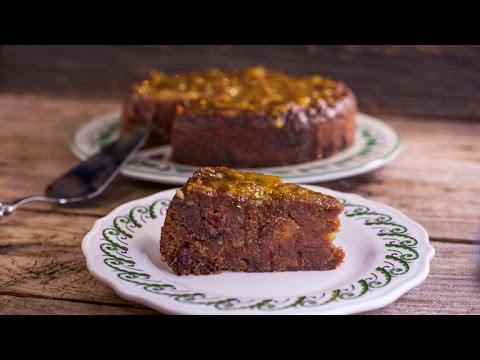Nigella Lawson S Date And Marmalade Christmas Cake Youtube