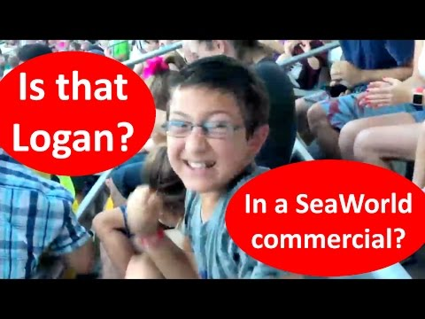Is that Logan in a SeaWorld Commercial??
