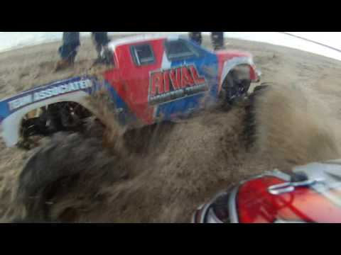 RC Cars on Long Beach (Raw Footage)