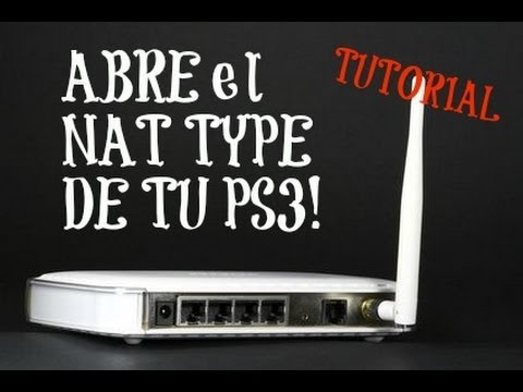 how to fix nat type on ps3
