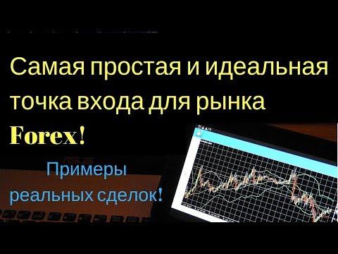 Самая простая и идеальная точка входа для рынка Forex! Примеры реальных сделок!