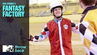 Video 'Ostrich Race' Official Throwback Clip | Rob Dyrdek's Fantasy Factory | MTV download MP3, 3GP, MP4, WEBM, AVI, FLV Mei 2018