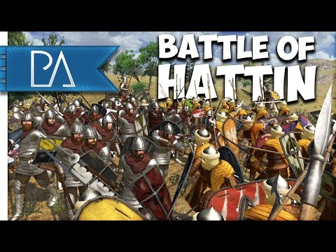 BATTLE OF HATTIN (1187): HUGE EVENT - Mount and Blade: Warband Gameplay