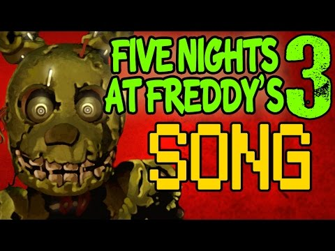 Five Nights At Freddy's 3 Song