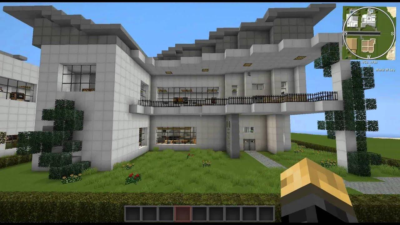 Minecraft houses modern youtube - Video minecraft maison ...