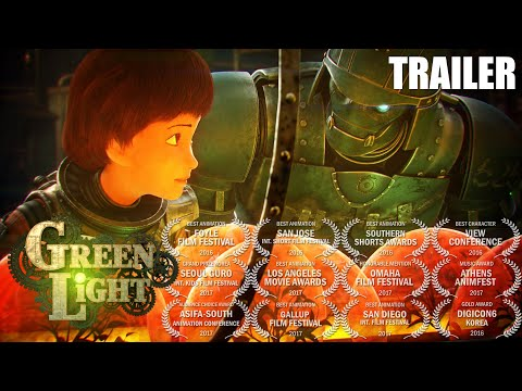 "short animation ""Green Light"" trailer"