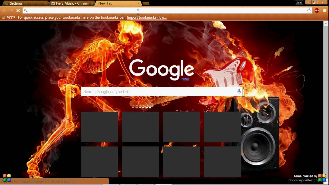 how to customize google chrome homepage with cool themes youtube
